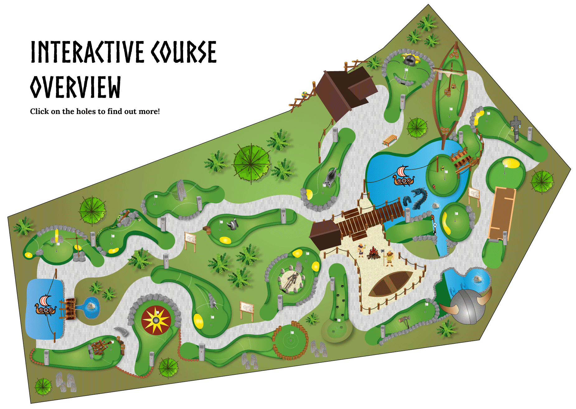 viking quest adventure golf moreton hills golf centre wirral merseyside mini